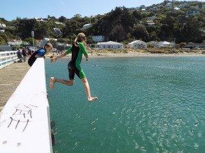 Jump wharf