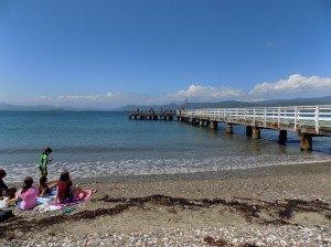 Wharf seatoun beach